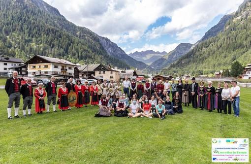 "Concluso a Formazza l'incontro fra i giovani walser ""Lost tribes in Europe"""