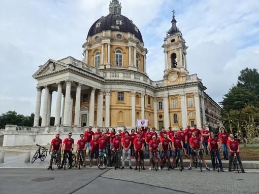 Giornata granata, in bici da Ceppo Morelli a Superga nel ricordo di Alberto e Agostino