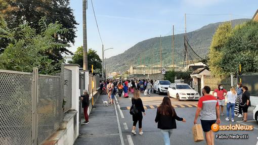 Primo giorno di scuola senza intoppi nelle scuole domesi FOTO E VIDEO