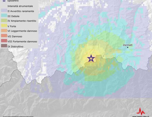 Scossa di terremoto avvertita a Macugnaga e in Valle Anzasca