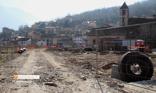 Villadossola, proseguono i lavori di recupero dell'area Ceretti FOTO