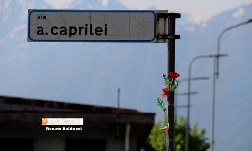 Villadossola mette un fiore nelle vie che ricordano la lotta di Liberazione
