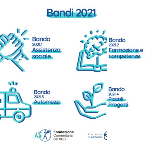 Fondazione Comunitaria VCO, contributi per arte e cultura e nuovi bandi 2021