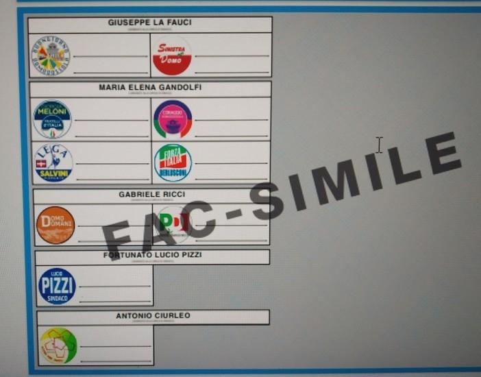 Definite le schede elettorali per il voto amministrativo di ottobre