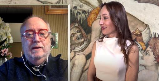 "Edoardo Raspelli ospite de ""L'eterna giovinezza: mito o realtà?"""