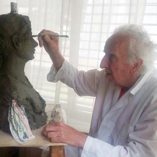 Macugnaga: addio a Gianni Radice, apprezzato pittore e scultore