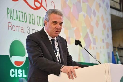 'Esordio' al consiglio regionale Cisl per il nuovo segretario Luigi Sbarra