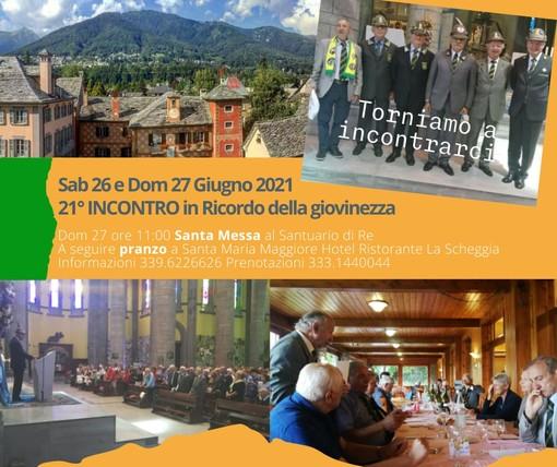 Gli ex finanzieri si ritrovano in Valle Vigezzo