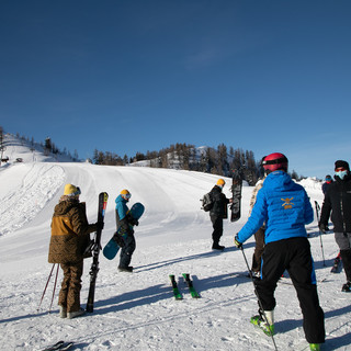 Oltre confine nessun focolaio con l'apertura delle piste da sci