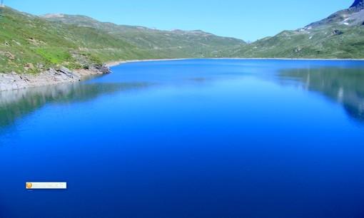 Il lago del Toggia, sulla strada per San Giacomo