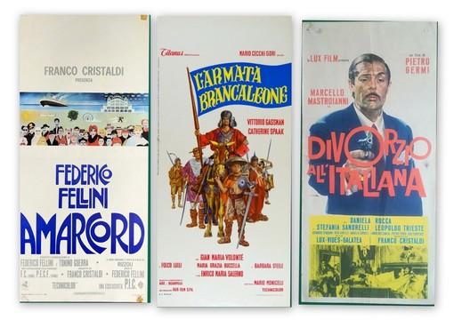 Alcune delle locandine 'storiche' del cinema italiano