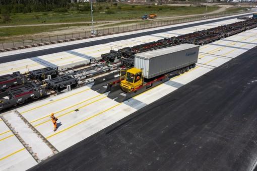 Nuovo terminal a Calais per Cargobeamer