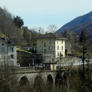 Nella foto: il confine di Ponte Ribellasca