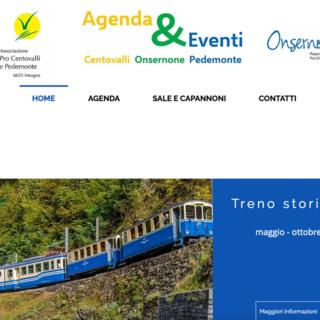 Una piattaforma on line con gli eventi di Centovalli, Onsernone e Terre di Pedemonte