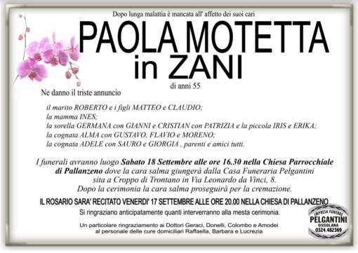 Paola Motetta in Zani di anni 55