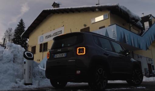 On line il video girato in Val Vigezzo per il lancio della nuova Jeep elettrica
