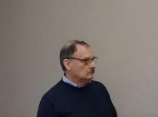 Ruggero Baraggia, il primo a sinistra nella foto