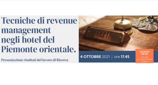 'Tecniche di revenue management negli hotel del Piemonte orientale', ecco i progetti