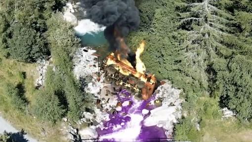 Animazione: Incidente sul Sempione, © Iniziativa delle Alpi
