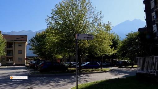 Piazza del lavatoio a Villadossola