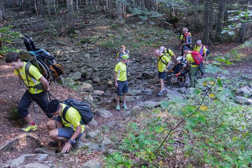 Cai, primo raduno nazionale per gli escursionisti con disabilità motoria