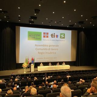Regio Insubrica, la presidenza passa dalla Regione Piemonte al Canton Ticino