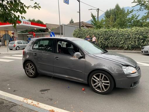 Anziano investito da un'auto sulla tangenziale dalla Chiesa