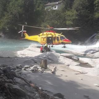Maiesso: tanta paura ma nessuna ferita grave per una 26enne scivolata in acqua agli Orridi