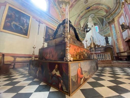 Catafalco ottocentesco in mostra a Malesco