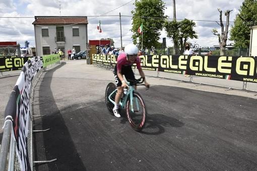 Prima vittoria stagionale per Francesca Barale che trionfa nella cronometro di Cotignola