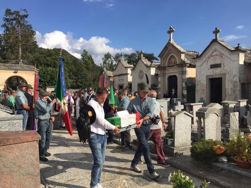 Dopo 80 anni le spoglie dell'alpino Francesco Guerra sono tornate a Craveggia