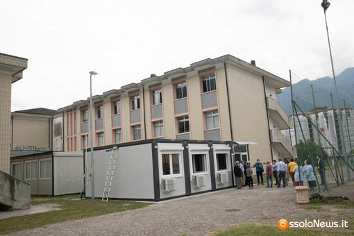 Inaugurate tre nuove aule prefabbricate al Liceo Spezia FOTO E VIDEO