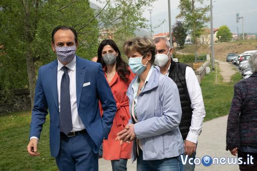 """Cirio: """"Quello del Maggiore è uno dei 200 centri vaccinali per i quali il Piemonte eccelle"""""""