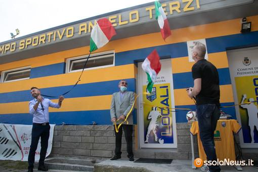 Piedimulera ricorda Angelo Terzi, dedicandogli lo stadio comunale