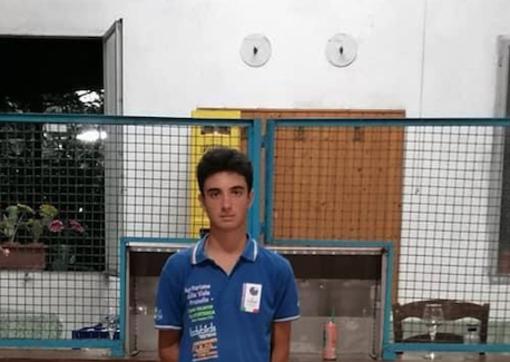 Bocce, l'ossolano Diego Verganti vice campione italiano under 15
