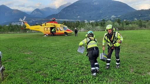Dramma in Valle Antrona per la morte di un escursionista precipitato al Passo del Cingino