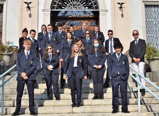 L'anno scolastico dell'Alberghiero Rosmini inizia con il saluto speciale degli stellati Bartolini e Palmieri