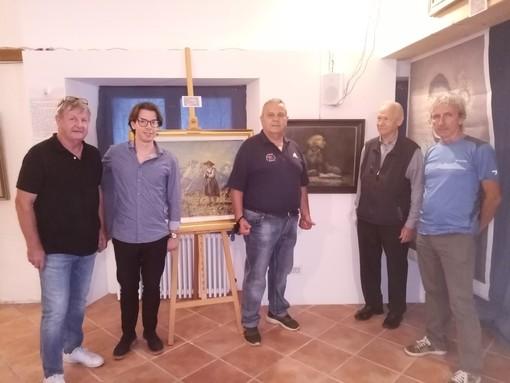 Inaugurata la mostra retrospettiva di Carlo Bossone