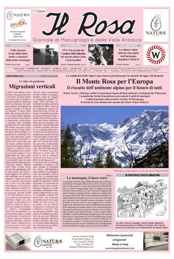 """È uscito  """"Il Rosa"""", giornale di Macugnaga e della Valle Anzasca"""