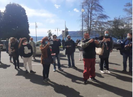 """Manifestazione ambulanti a Verbania, Italexit Vco: """"Riaprire al più presto i mercati cittadini e le frontiere con la Svizzera"""""""