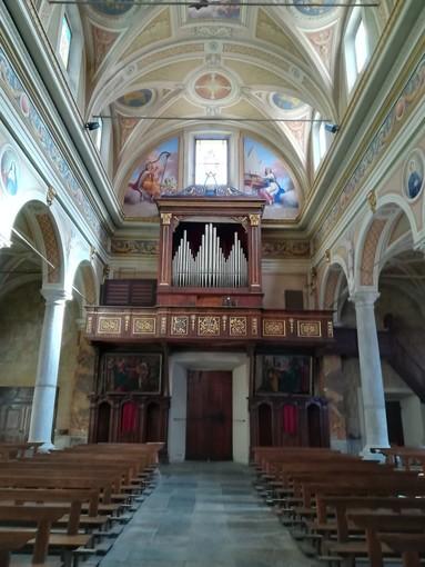 Calasca, torna a suonare l'organo restaurato
