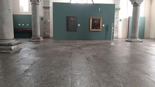 Allagamento senza conseguenze a Palazzo San Francesco