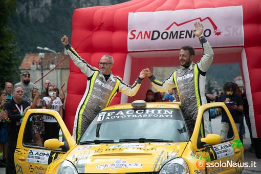 Davide Caffoni fa suo il Rally 2Laghi FOTO E VIDEO