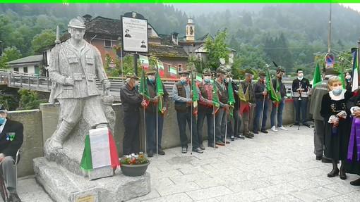 Si è svolto a Bannio il raduno degli Alpini della Valle Anzasca FOTO