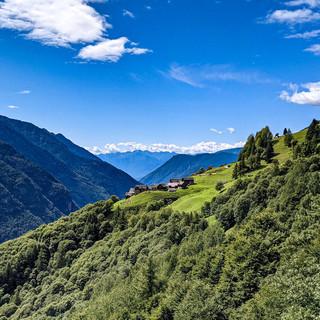 A Salecchio lungo l'antico sentiero walser