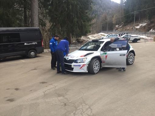 """Test auto da rally, chiude la """"Vasca-Blitz"""""""