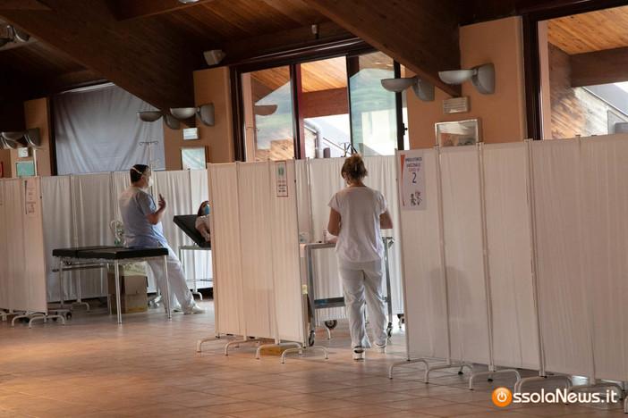 Poco più di 20mila vaccini somministrati giovedì negli hub piemontesi