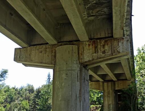 Druogno, preoccupano le condizioni del viadotto di Gagnone