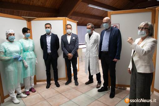 La sede dell'Unione Valle Ossola è il nuovo centro vaccinale domese FOTO E VIDEO